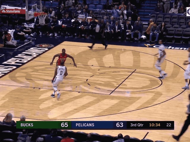 Giannis Had Two Dope Slams And Would've Had A Third If Not For John Henson