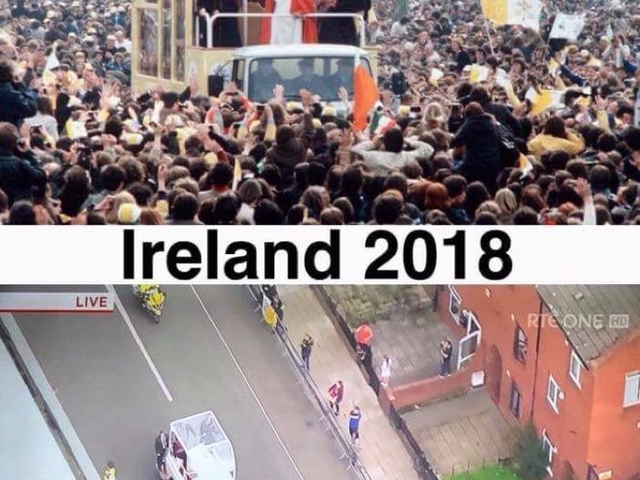 #Stand4Truth: scattered #PopeInIreland thoughts and Tweet Beat #FTP