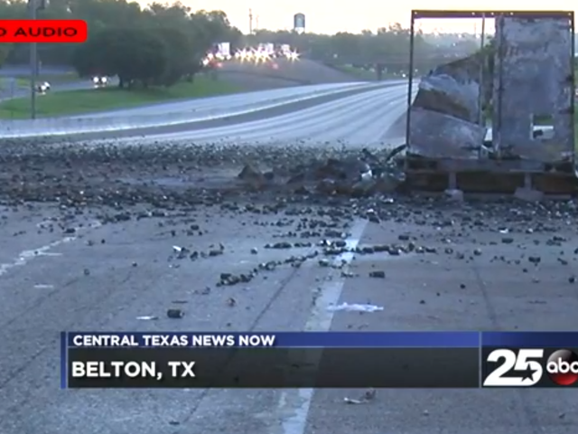 Truck Full of Axe Body Spray Catches Fire, Sprays Exploding Cans Everywhere