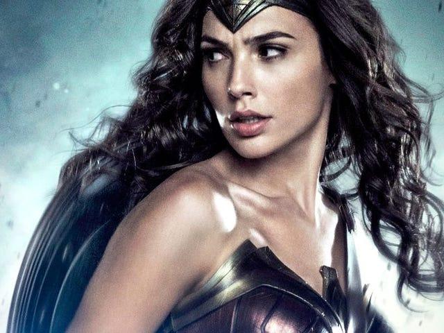 Näimme vain hienoja uusia kuvamateriaaleja Wonder Woman
