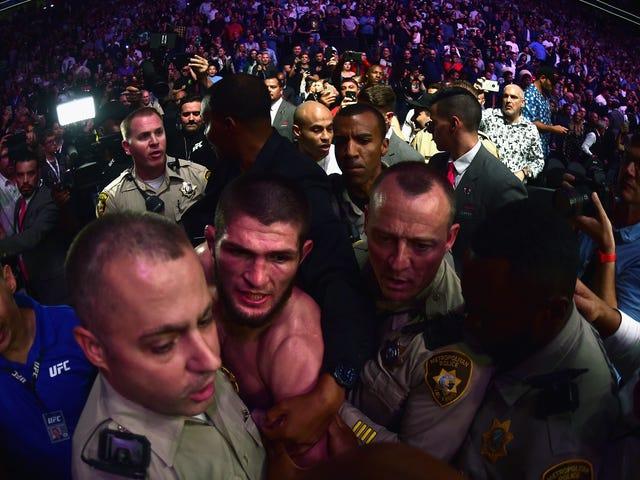 UFC 229のメスはダナ・ホワイト自身のメイキングだった