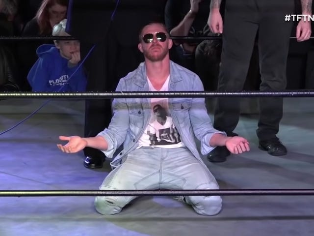 All Elite Wrestling's Newest Signing Is As Divisive As Wrestlers Get