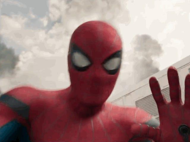 Spider-Man&#39;s <i>Civil War</i> videodagbok är bara förtjusande och andra nya <i>Homecoming</i> uppenbarelser