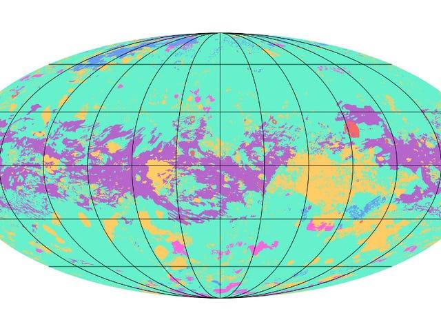 Bản đồ Titan toàn cầu đầu tiên tiết lộ một thế giới xa lạ thực sự