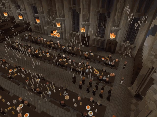 Harry Potter x Minecraft Map Looks Like A Whole New Game