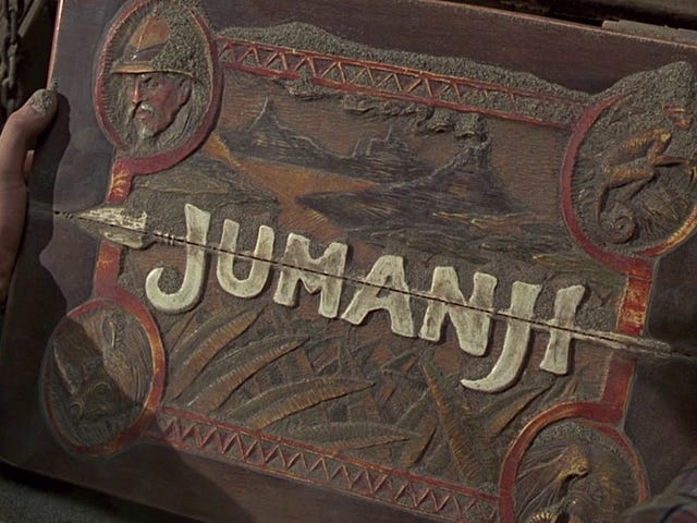 Forget the Jumanji Remake Rumors, Let's Rewatch the Orignal