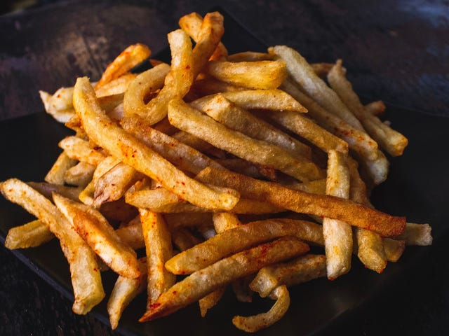 Sprinkle Ramen Powder on French Fries