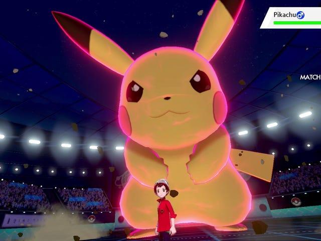 Pokémon Sword And Shield's Giant Pokémon Changed Up My Battle Strategy