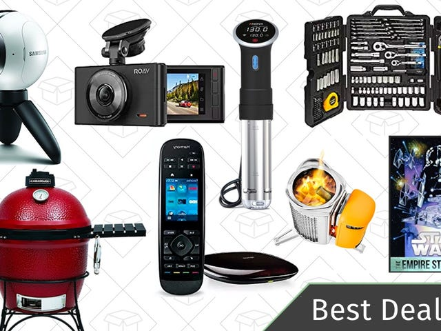 Thursday's Best Deals: Dash Cams, Camping Stove, Star Wars Movies, and More