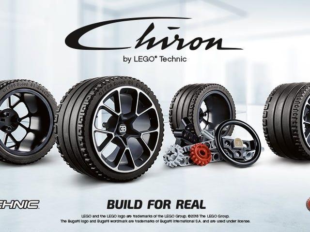 Lego is bringing a Bugatti Chiron we can afford