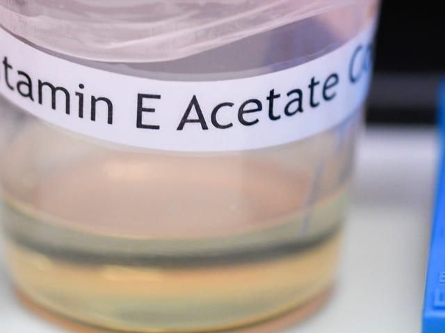 वी नाउ का सीधा साक्ष्य है कि विटामिन ई वाष्प बीमारी के प्रकोप के पीछे है