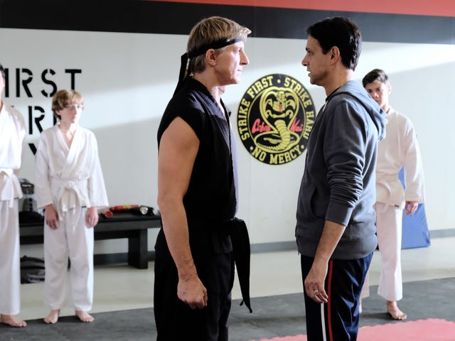 Cobra Kai karate-chops into season 2 with half the humor and double the melodrama