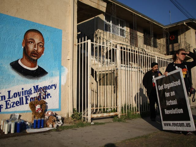 L.A. City Council Approves $1,500,000 Settlement in Police Killing of Ezell Ford
