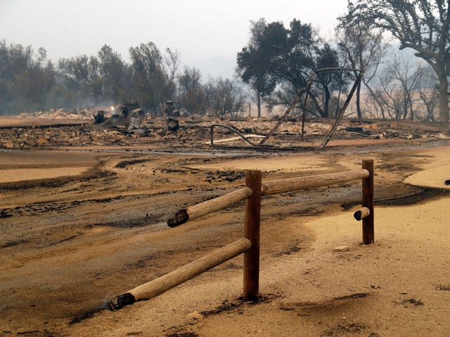 Los incendios de California devastan Paramount Ranch, el plato de la serie <i>Westworld</i> y otras uncumerables películas