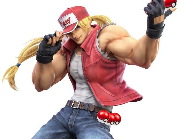Terry From Fatal Fury sammenlignes med en Macho Pokémon Trainer i Japan