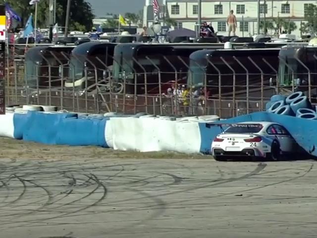 BMW Sebring'de Lastiklerle Dolu Bir Yüz Alır