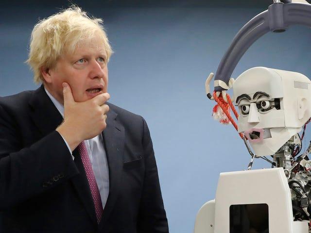 Có phải Boris Johnson Ramble đã giới thiệu về xe buýt mô hình để điều khiển kết quả tìm kiếm của Google?