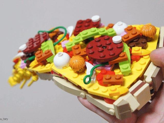 LEGO omdannet til lækker mad