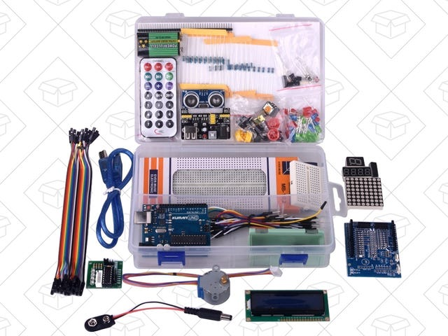 Nourrissez vos impulsions bricoler avec ce kit de démarrage Arduino à 30 $