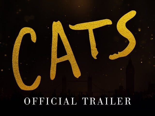 Cats Trailer: This Is Nightmare Fuel