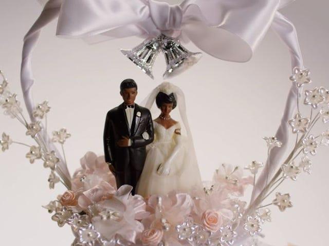 The entire last century can be summarized via wedding cakes
