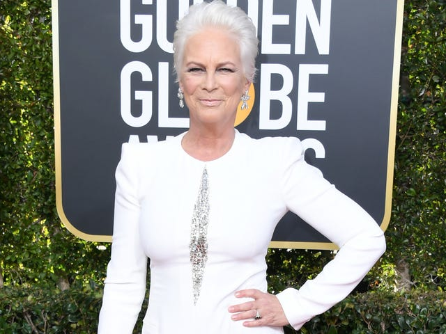 Jamie Lee Curtis Agrees: The Golden Globes Viral Fiji Water Girl Was 'Blatant Promotion'