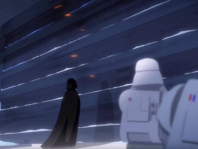 <i>Star Wars</i> Short này biến Cuộc chiến của Hoth thành một Vader Rampage xứng đáng với <i>Rogue One</i>