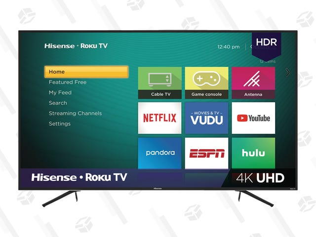 Blow Your Whole Tax Refund on a Discounted Hisense R6 TV