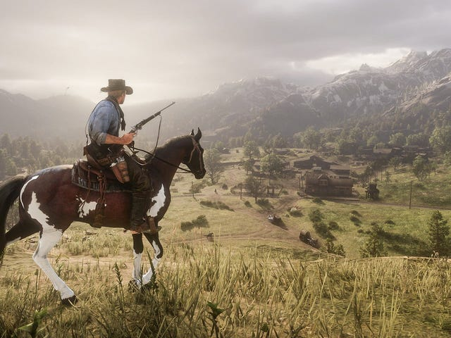 Red Dead Redemption 2 kommer til pc'er
