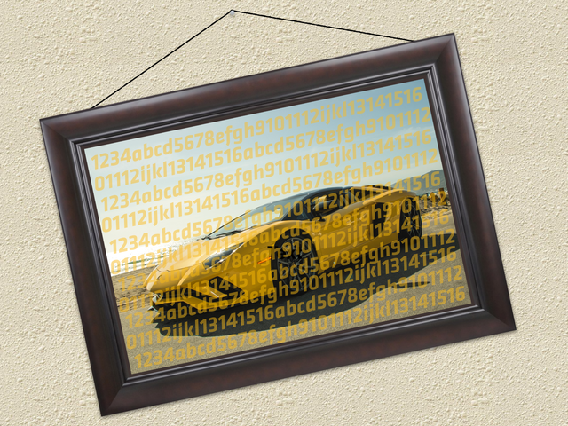 Someone Actually Bought A Piece Of Crypto Art About A Lamborghini For The Price Of An Actual Lamborghini