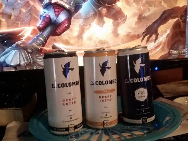 TAYste Test: La COLOMBE Draft Lattes