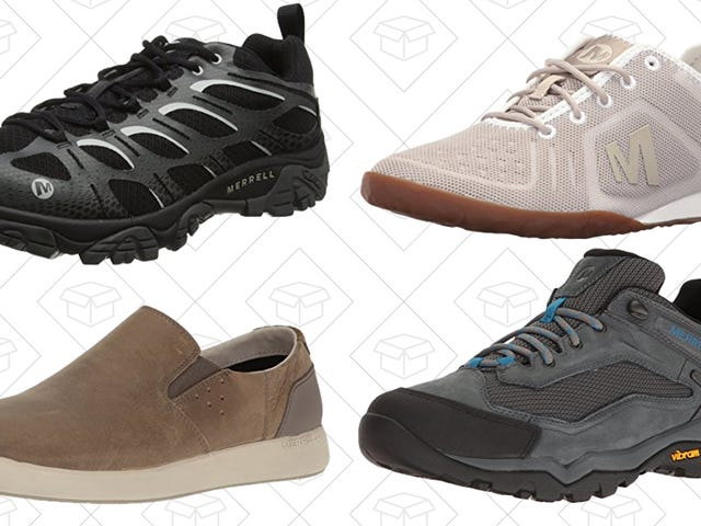Get the Right Footwear for the Outdoors (Or Wherever) With This Merrell Sale