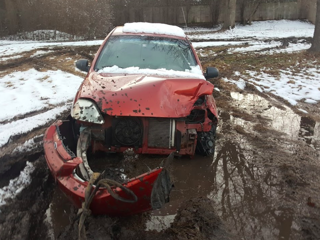 I'm Reviving The Totaled Kia That Sank Into My Backyard To Run It In The Gambler 500