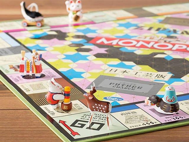 La plus belle version de Monopoly célèbre les arts et l'artisanat japonais