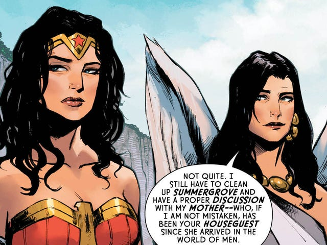 The Bridge Between Themyscira and the World of Men Is Back in This Exclusive Wonder Woman Preview