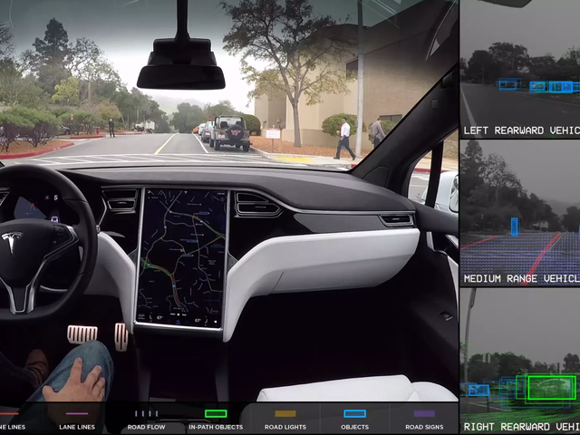 Autopilot Blamed For Tesla Crashing And Rolling Into A Marsh