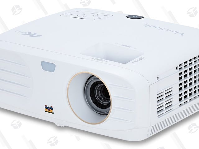 Build the Home Theater Of Your Dreams With This Deeply Discounted 4K Projector