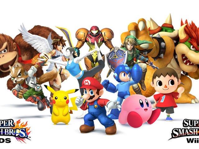 Nintendo's Super Smash Bros. Fighter Ballot is up!