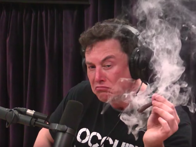 The Air Force Is Investigating Elon Musk For Doing The Pot: Report