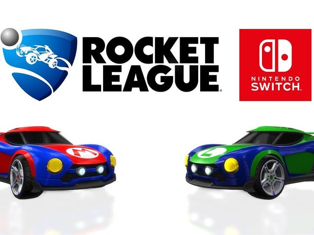 Here's the First Discount Ever on the Nintendo Switch Version of Rocket League Collector's Edition