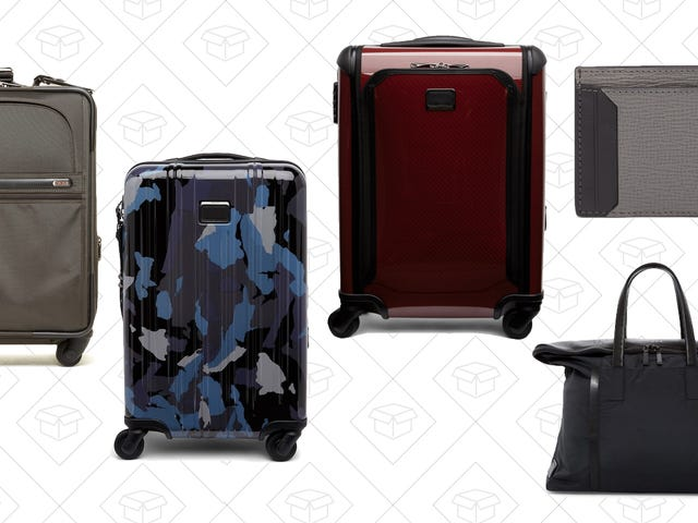 Save Hundreds On All the TUMI Gear You Could Ever Need