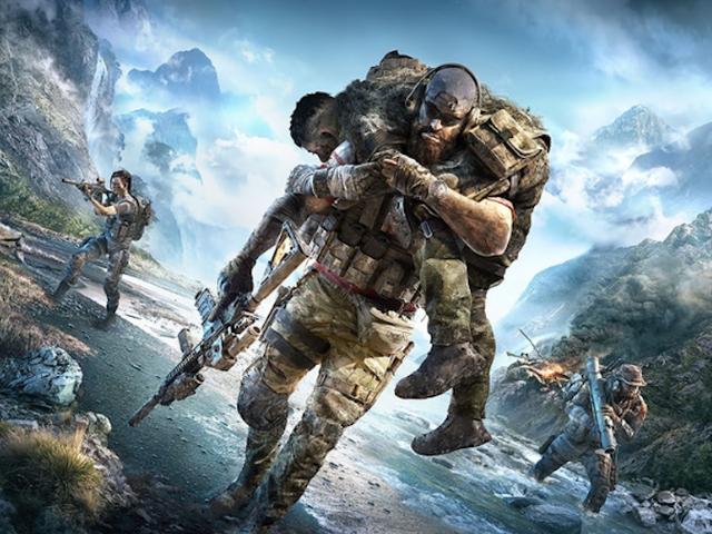 Ubisoft의 Tom Clancy가 Ubisoft의 Tom Clancy와 경쟁하려고합니다.