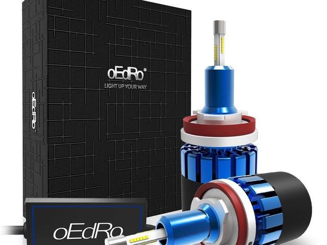 oEdRo Unique 4-side LED Headlight Bulb Conversion Kit $27.99 @Amazon
