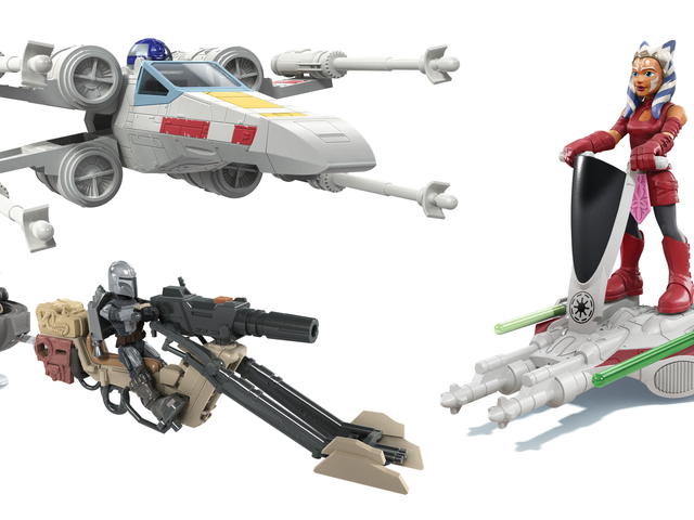 Exklusivt: Baby Yoda stjäl showen i Hasbro's Adorable New Star Wars Vehicle Line
