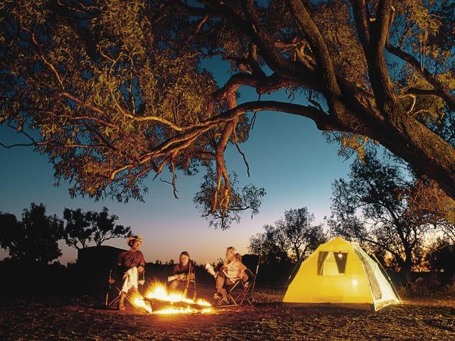Paano Pumunta sa Camping sa Little Kids