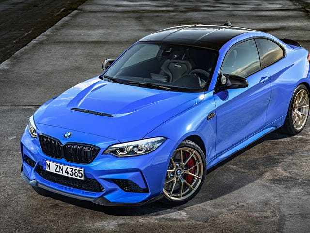 The 2020 BMW M2 CS Sends Out The 2 Series With A Lot Of Carbon Fiber