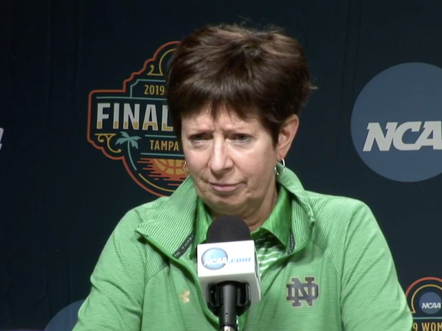 Reporter Asks Muffet McGraw Dumbass Question About Her Relationship With Geno Auriemma