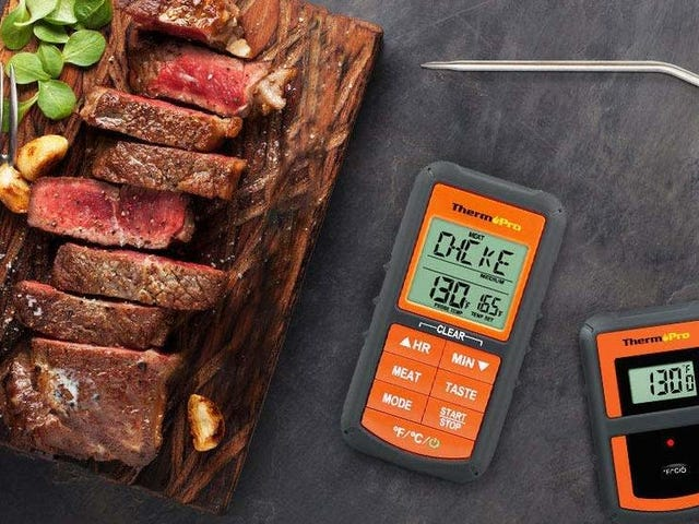 These Wireless Meat Thermometers Let You Know When Dinner's Ready