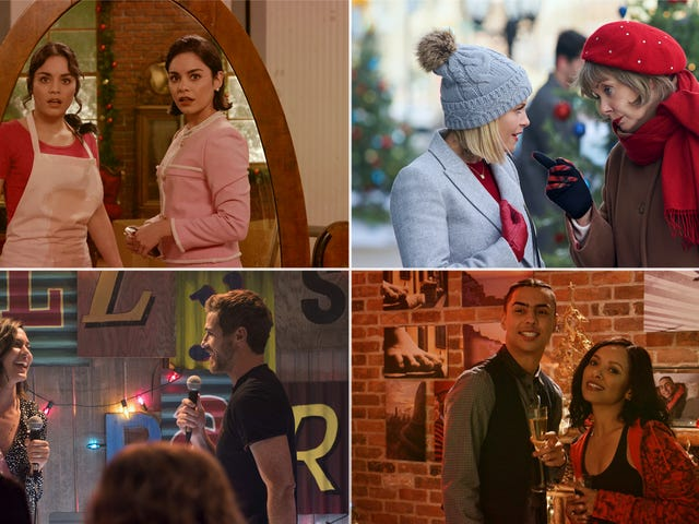 Watch out for mistletoe and snowballs: Navigating this year's crop of holiday romance TV movies