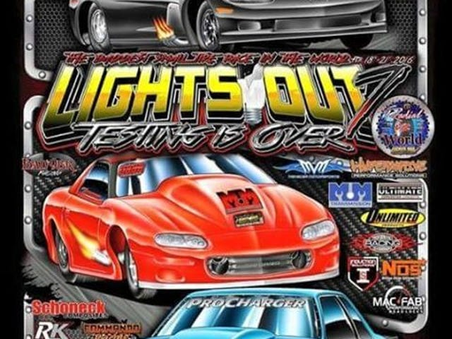 Lights Out 7 Radial Vs The World LIVE FEED for the next 5 days !